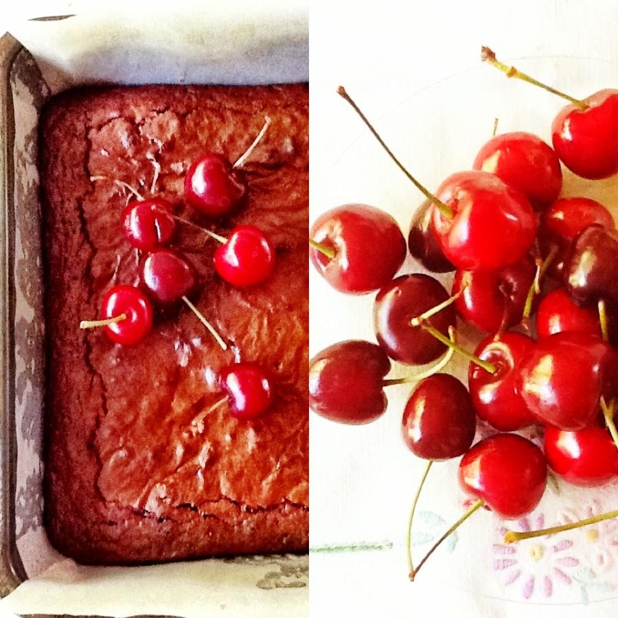 aa brownies en kersies  2