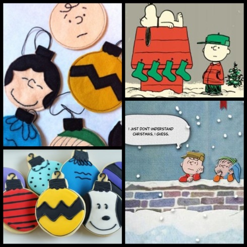charlie brown collage