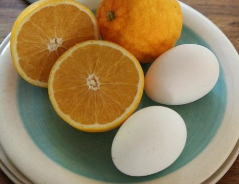 Twee spierwit eiers onder die 12 bymekaar gemaak op Spier se plaas