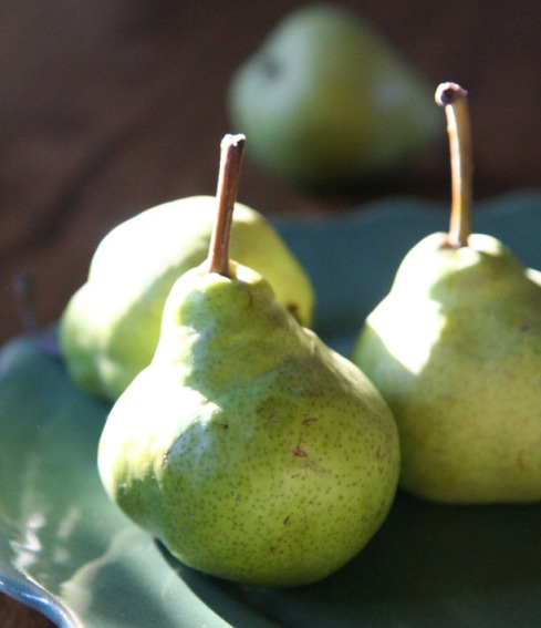 Minnaars moenie saam aan 'n peer eet nie: dit bring skeidng glo die Chinese. Foto: Ian