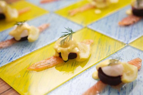 Cassia Restaurant op Nitida se Gravadlax proehappies