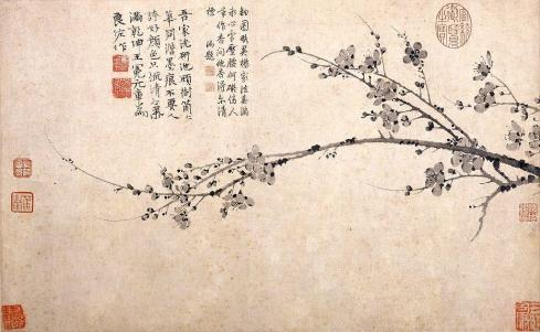 Wang Mian /  Ink-Plum