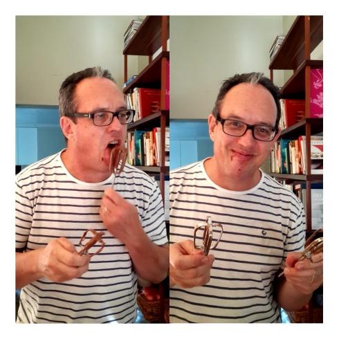 aa Ian lek sjokoladeklitser af