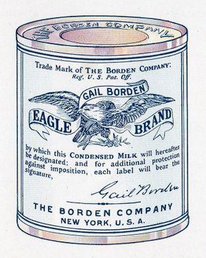 Gail Borden is die vader van kondensmelk.