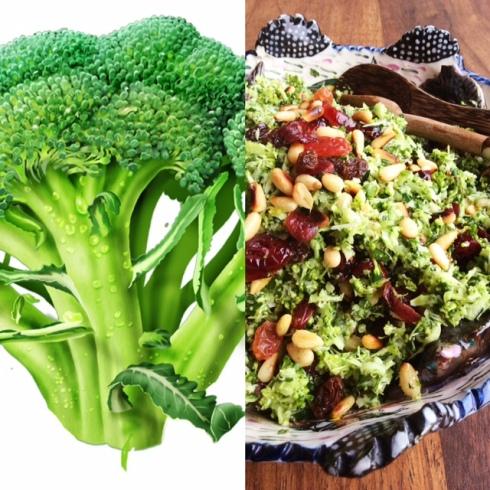 Van bitter-groengoed tot broccoli kamma-couscous-slaai