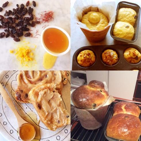 Rosyntjiebrood kry smake van lemoen, saffron en heuning