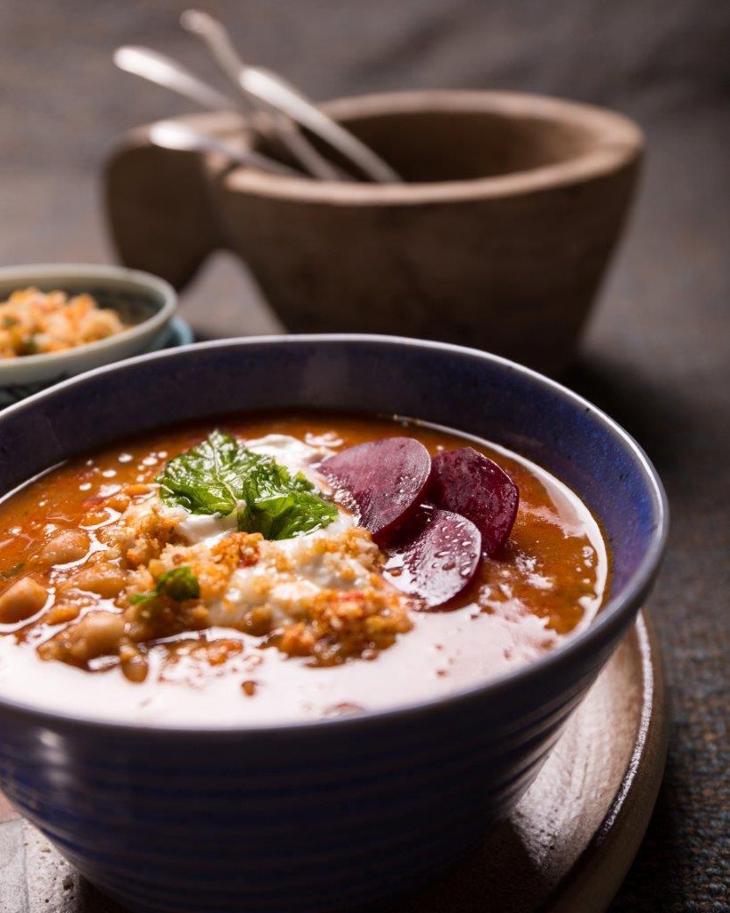 freekeh soup wider angle