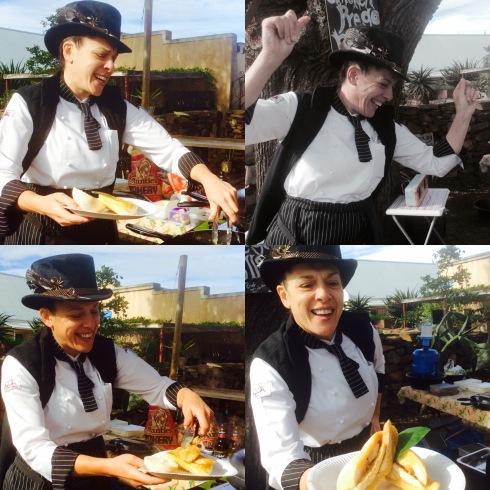 Isabella Jardim kook en gesels op die stadige ritme van die platteland.